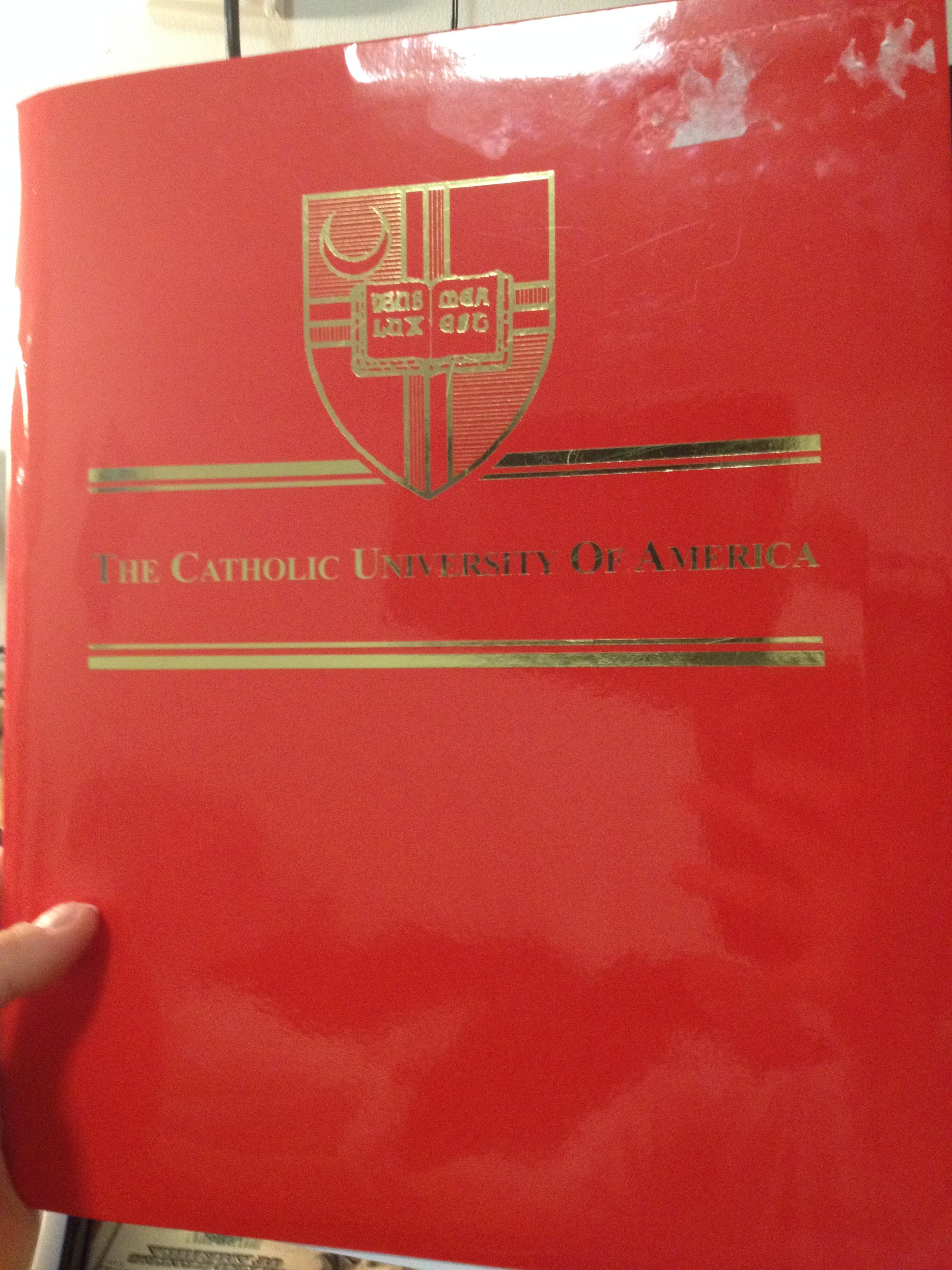 i am accepted the catholic university of america office of