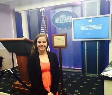 Lauren W White House Pic
